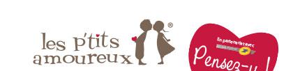 Les p'tits amoureux - entête avec logo